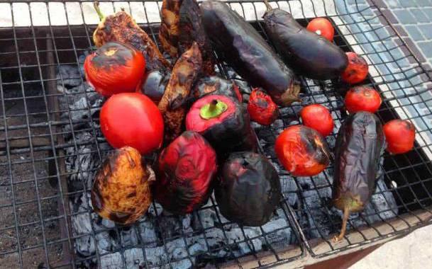 фотографії улюблених страв на мангалі