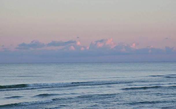 Бирючий остров - морские пейзажи