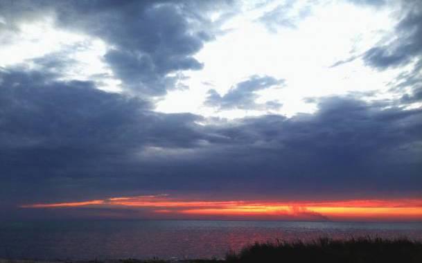 Бирючий острів - морські пейзажі