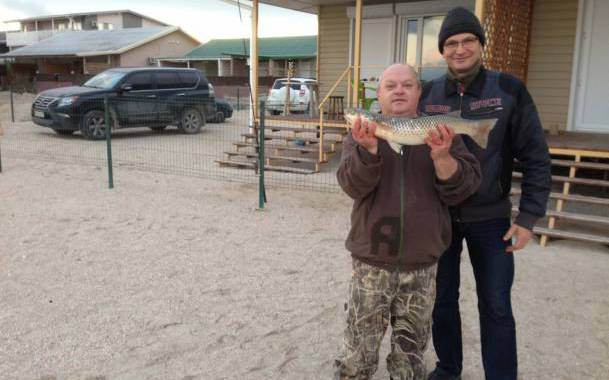 Остров Бирючий - рыбалка на Азовском море